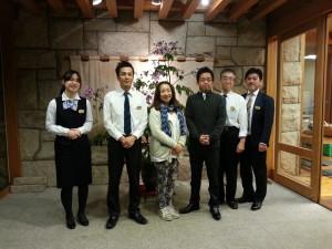 石井先生とスタッフ